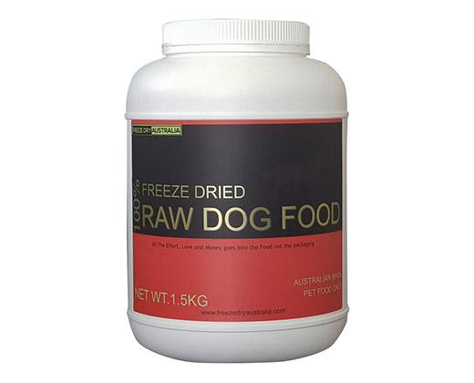 100% Raw Dog Food 1.5Kg