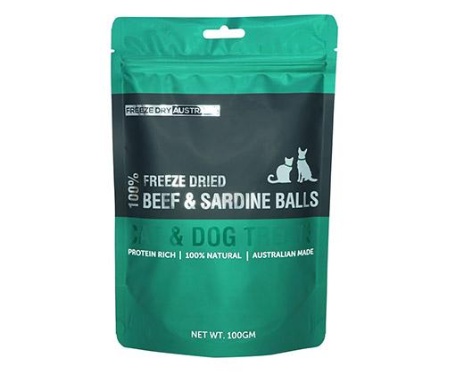 Freeze Dried Beef & Sardine Balls