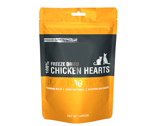 Freeze Dried Chicken Hearts
