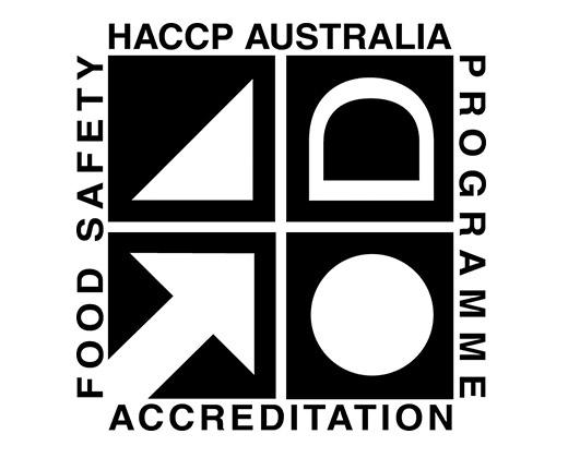 Freeze Dry Australia HACCP Certified